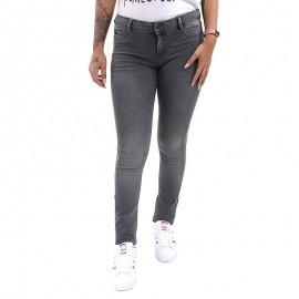 Jean Skinny Power Gris Femme Kaporal