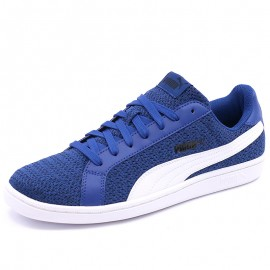 Chaussures Smash Knit Bleu Homme Puma