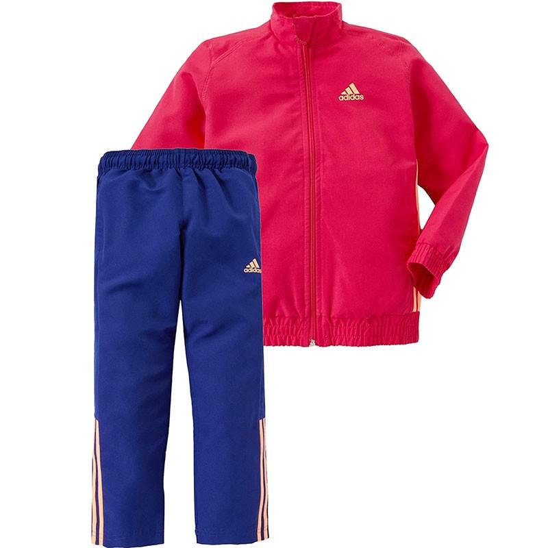 Survêtement Bébé Fille Rose Adidas