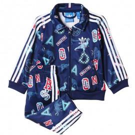 Survêtement Superstar Marine Bébé Garçon Adidas