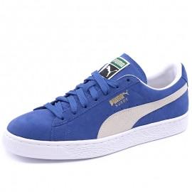 Chaussures Suède Classic + Bleu Homme Puma