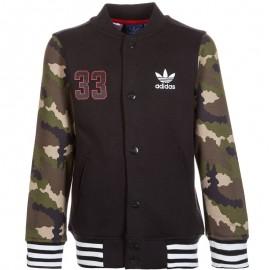 Veste FLEECE Noir Garçon Adidas