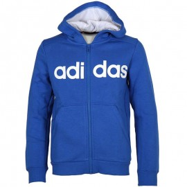 Sweat zippé Bleu Garçon Adidas