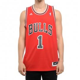 Débardeur Chicago Bulls D.Rose Rouge Basketball Homme
