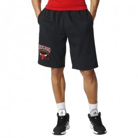Short Chicago Bulls Noir Basketball Adidas