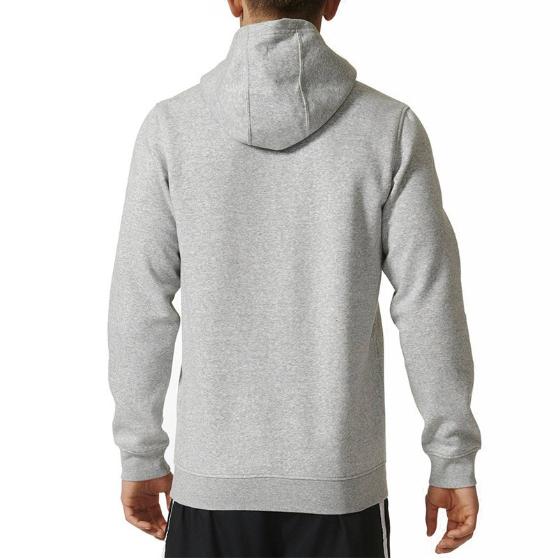 sweat capuche brooklyn nets gris basketball homme adidas. Black Bedroom Furniture Sets. Home Design Ideas