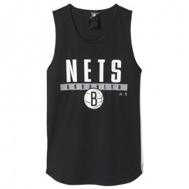 Maillot Brooklyn Nets Basketball Noir Garçon Adidas