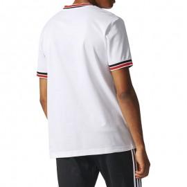 Tee-Shirt Manchester United 85 Blanc Football Homme Adidas