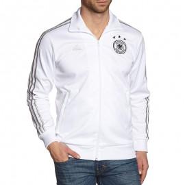 Veste Allemagne Blanc Football Homme Adidas