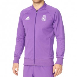 Veste Real Madrid Violet Football Homme Adidas