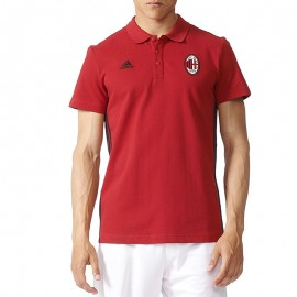 Polo Milan AC Rouge Football Homme Adidas