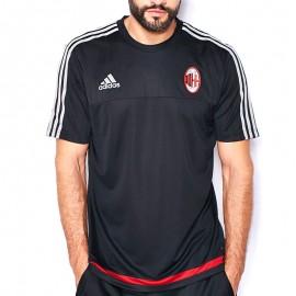 Tee Shirt Milan AC Noir Football Homme Adidas