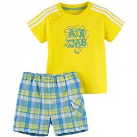 Ensemble Jaune Bébé Garçon Adidas