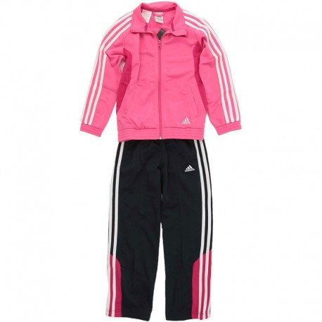 survetement rose fille adidas