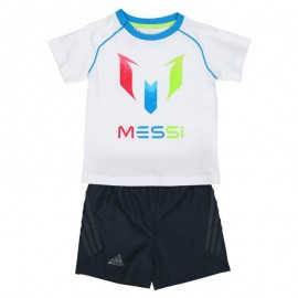 Ensemble Messi Blanc Bébé Garçon Adidas
