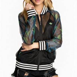 Veste Hawai Superstar Vert Femme Adidas