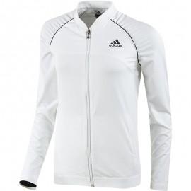 Veste Core Jacket Tennis Blanc Femme Adidas