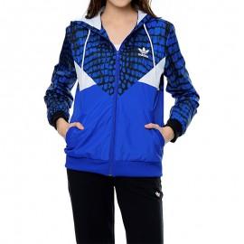 Veste coupe-vent Colorado Bleu Femme Adidas
