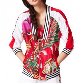 Veste Dragon Rita Ora Print TT Blanc Femme Adidas
