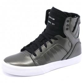 Chaussures Skytop Gris Fille/Garçon Supra