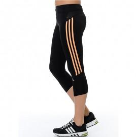 Collant Response  3/4 Running Noir Femme Adidas
