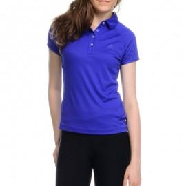 Polo Violet Femme Adidas