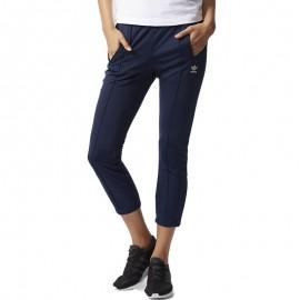 Pantalon cigarette Marine Femme Adidas