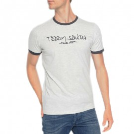 Tee shirt TICLASS3 Gris Garçon Teddy Smith