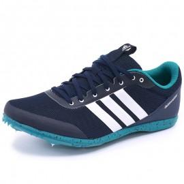 Chaussures Distance Star Bleu Athlétisme Femme Adidas
