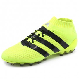 Chaussures Ace 16.1 Primeknit Jaune Football Homme Adidas