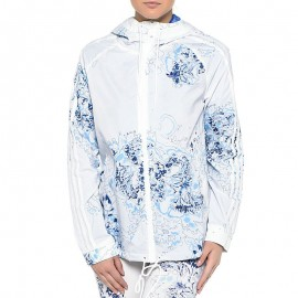 Veste coupe-vent Blanc Femme Adidas