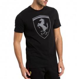 Tee-shirt Ferrari Big Shield Noir Homme Puma