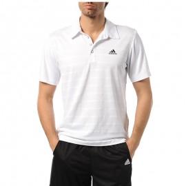 Polo Tennis Blanc Homme Adidas