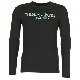 Tee Shirt Ticlass 3 Homme Noir Teddy Smith