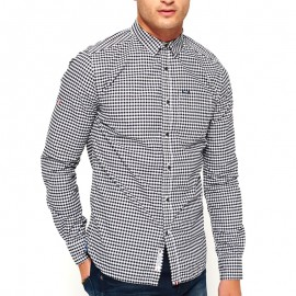 Chemise Ultimate Oxford Noir Homme Superdry
