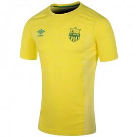 Tee-Shirt Fc Nantes Football Jaune Homme Adidas