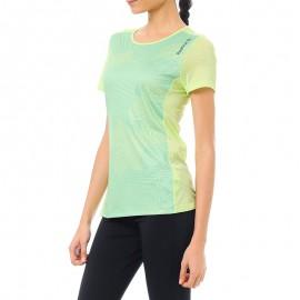 Tee shirt Sport Vert Femme Reebok