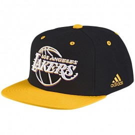 Casquette Los Angeles Lakers Noir Basketball Homme Adidas