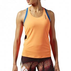 Débardeur Sport Orange Femme Reebok