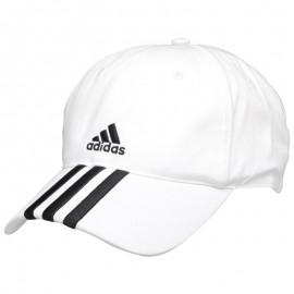 Casquette Essentiel 3 Stripes Blanc Entrainement Homme Adidas