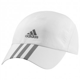 Casquette Runner 3 Stripes Climacool Blanc Running Homme Adidas