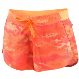 Short Running Orange Femme Reebok