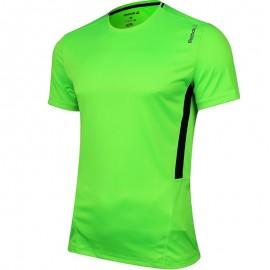 Tee shirt Entrainement Vert fluo Homme Reebok