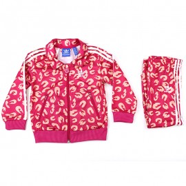 Survêtement Firebird Rose Bébé Fille Adidas