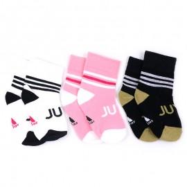Chaussettes Juventus Turin Noir Football Enfants Adidas