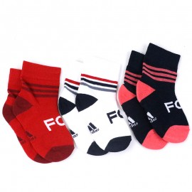 Chaussettes FC Bayern Munich Rouge Football Bébé Adidas
