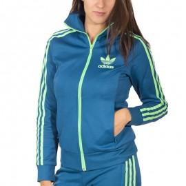 Veste Europa Bleu Femme Adidas