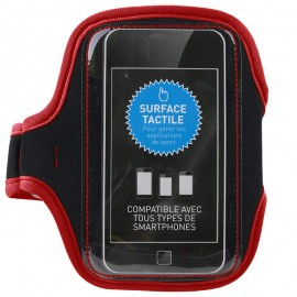 Brassard Universel Smartphone Sport Rouge Be Mix