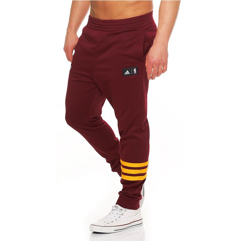 Pantalon Jogging Cleveland Cavaliers Rouge Basketball Adidas