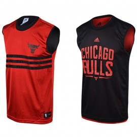 Maillot Reversible Chicago Bulls Rouge Basketball Garçon Adidas